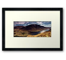 Glen Etive, Scottish Highlands Framed Print