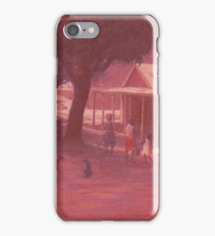 Thursday Island Street Scene iPhone Case/Skin