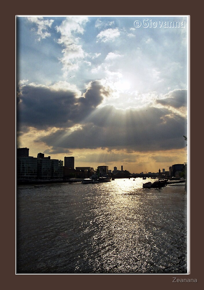 London Sunsets by Zeanana