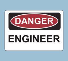 Danger Engineer - Warning Sign Kids Clothes