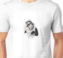 lady in hat and gloves  Unisex T-Shirt