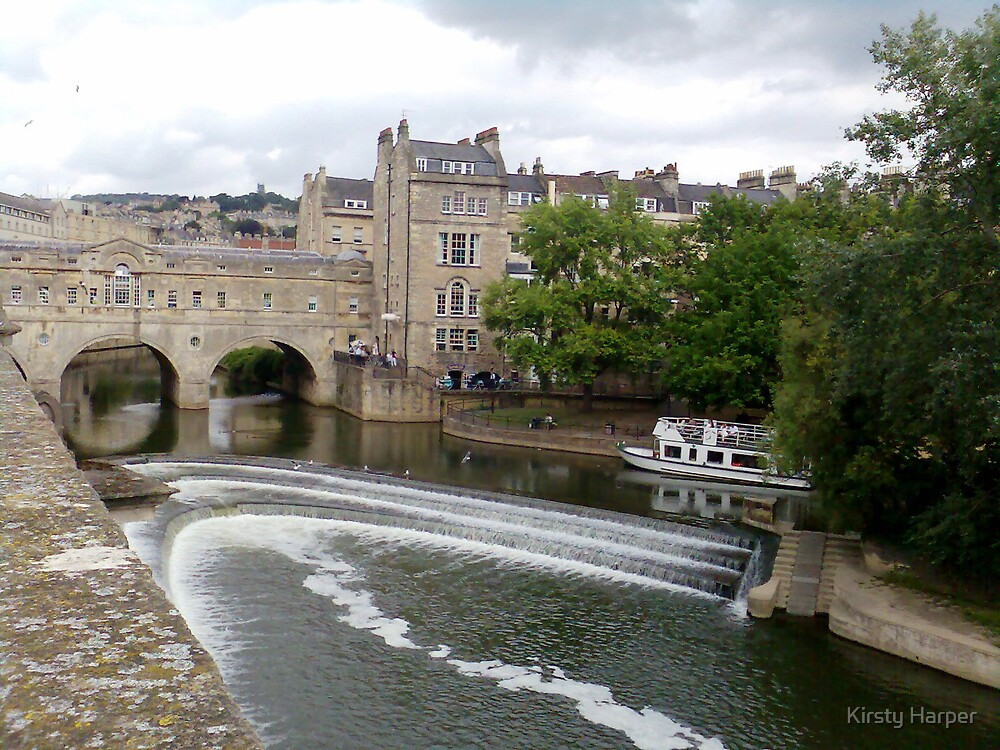 Pulteney Weir by Kirsty Harper