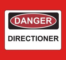 Danger Directioner - Warning Sign by graphix