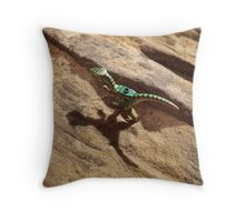 Grrr. Throw Pillow