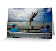 Big Fishing Greeting Card