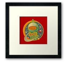 Space Boy! Framed Print