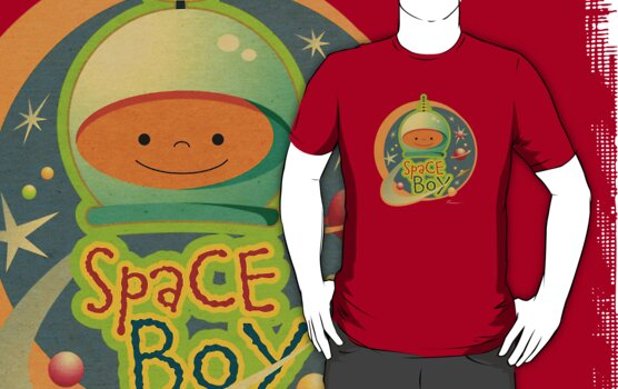 Space Boy! by Will Ruocco