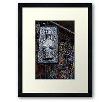 The Big Bust Framed Print