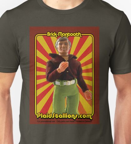 PlaidStallions Brick Mantooth Doll Unisex T-Shirt