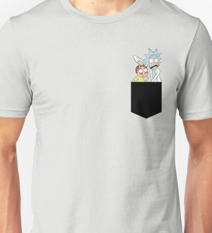 Rick And Morty Pocket Tee Unisex T-Shirt