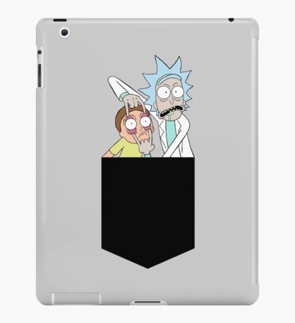 Rick And Morty Pocket Tee iPad Case/Skin