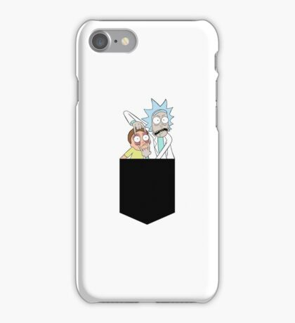 Rick And Morty Pocket Tee iPhone Case/Skin