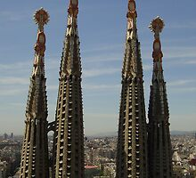 Sagrada Familia - Antoni Gaudi - Barcelona Spain by CAM77