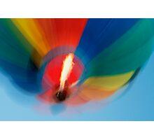 Balloon Blur Photographic Print