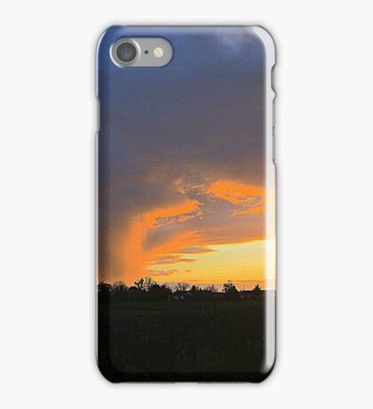 Trying To Capture Sunsets iPhone Case/Skin