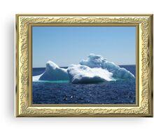 Iceberg-3 ...on close up Canvas Print