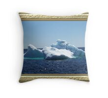 Iceberg-3 ...on close up Throw Pillow