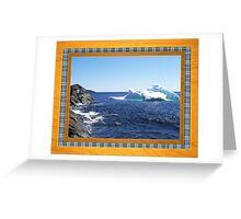 Iceberg-1...at the beach Greeting Card