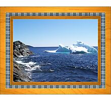 Iceberg-1...at the beach Photographic Print
