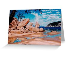 Florence Bay Reflections Greeting Card