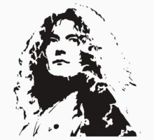 Robert Plant Led Zeppelin by retroretro