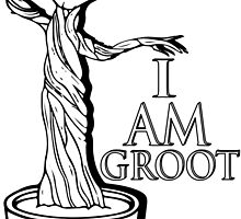 I Am Groot  by Zak-Karle