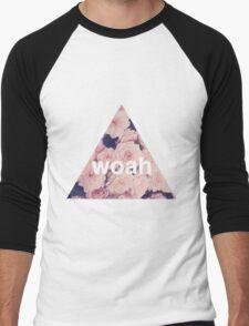 woah. Men's Baseball ¾ T-Shirt