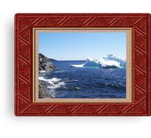Iceberg-3...at the beach Canvas Print