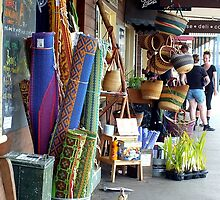 Main Street of Maleny, Qld, Australia by sandysartstudio