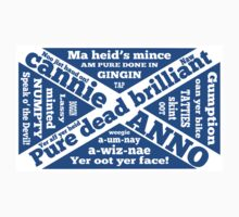 Scottish slang and phrases One Piece - Short Sleeve