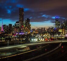 The City Sparkles by ashercobb