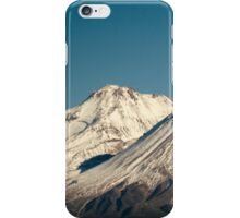 Moon over Shasta iPhone Case/Skin
