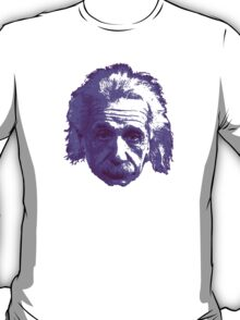 Albert Einstein - Theoretical Physicist - Purple T-Shirt