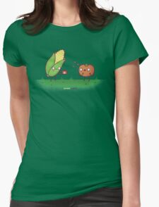 Sweet Corn Womens Fitted T-Shirt