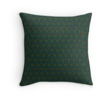 GREEN PATTERN GEO Throw Pillow