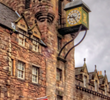 Tolbooth at the Canongate Sticker