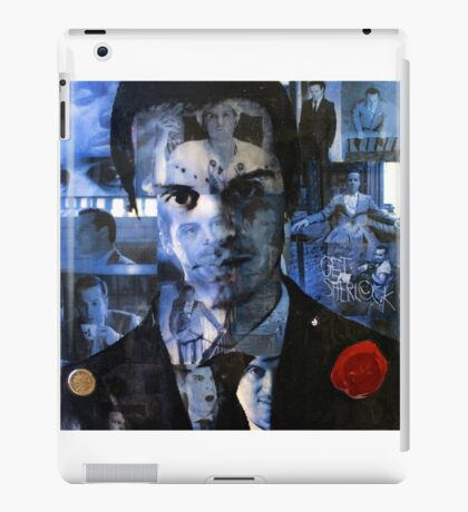 Moriarty Collage iPad Case/Skin