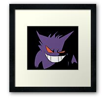 Gengar in Shadows Framed Print