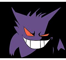 Gengar in Shadows Photographic Print