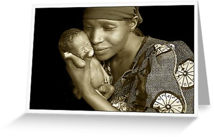 Mother & Child by Melinda Kerr and Rebecca Zachariah by rebecca zachariah