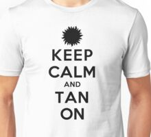 Keep Calm and Tan On (LS) Unisex T-Shirt