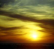 Huntington Beach Sunset 2006 by Sofia