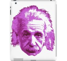 Albert Einstein - Theoretical Physicist - Pink iPad Case/Skin