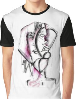 two faces Graphic T-Shirt