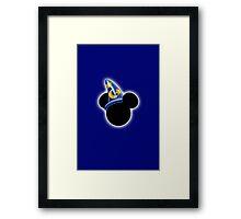 Sorcerer Mickey Mouse Framed Print