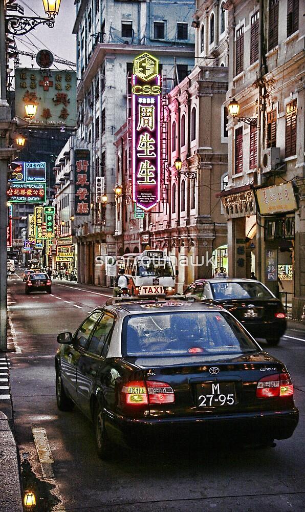 Macau - Street Scene by sparrowhawk