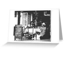 Drinks to Go Greeting Card
