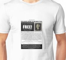 FREE! Genuine Cursed Penny Black! Unisex T-Shirt