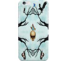 Death & Butterflies iPhone Case/Skin