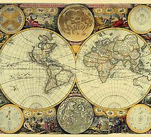 World Map 1675 by solnoirstudios
